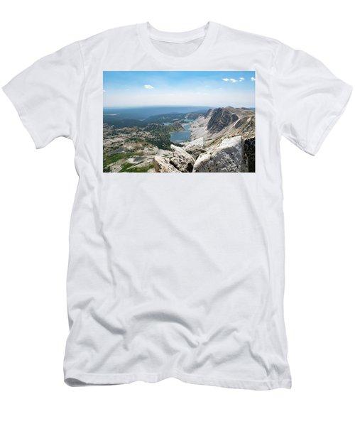 Medicine Bow Peak Men's T-Shirt (Athletic Fit)