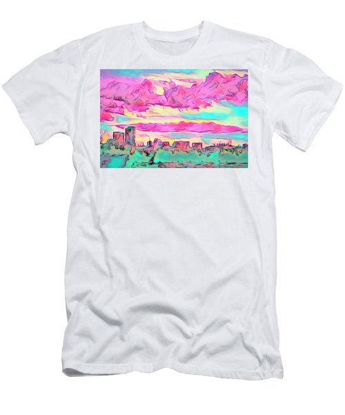 Mile High Sunset Men's T-Shirt (Athletic Fit)