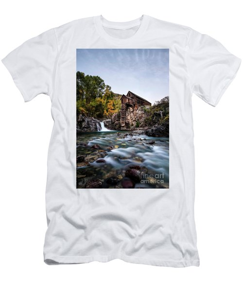 Mill On Crystal River Men's T-Shirt (Athletic Fit)
