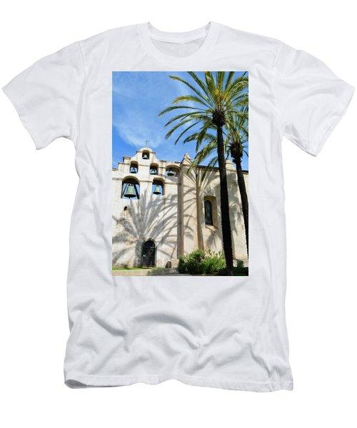 Mission San Gabriel Portrait Men's T-Shirt (Athletic Fit)