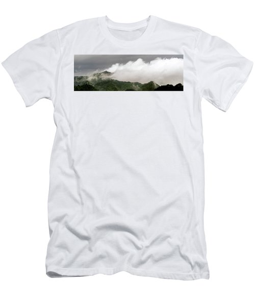 Misty Mountains II 3x1 Men's T-Shirt (Athletic Fit)