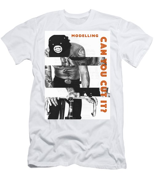 Modelling Can You Cut It? Men's T-Shirt (Athletic Fit)