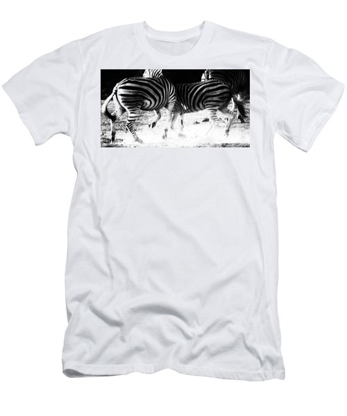 Monochrome Motion Men's T-Shirt (Athletic Fit)