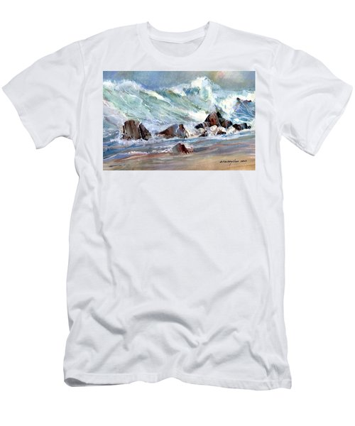 Monster Waves Men's T-Shirt (Athletic Fit)