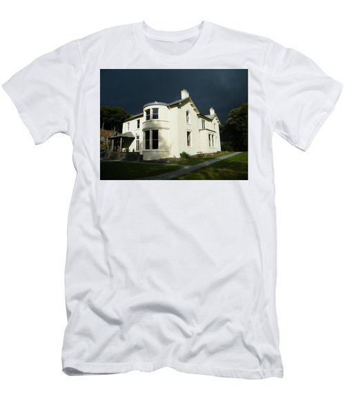 Men's T-Shirt (Athletic Fit) featuring the photograph Moody Sky Over Allen Bank by JLowPhotos