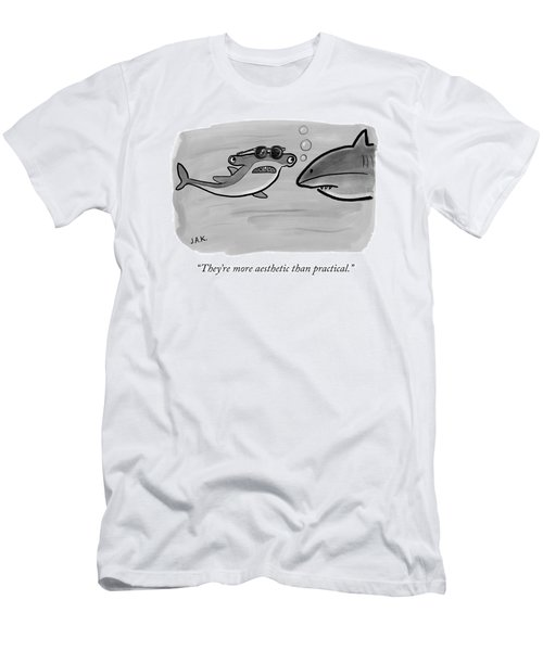 More Aesthetic Than Practical Men's T-Shirt (Athletic Fit)