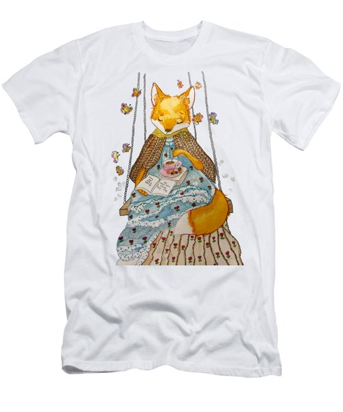 Morgan's Fox Men's T-Shirt (Athletic Fit)