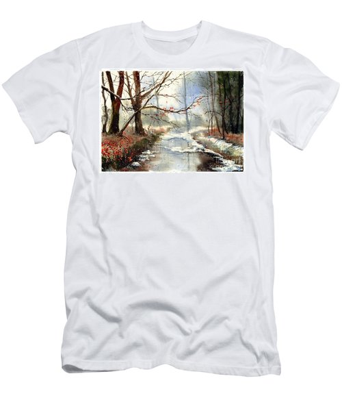 Morning Haze Men's T-Shirt (Athletic Fit)