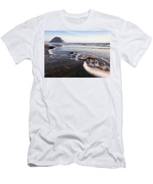 Morro Rock Ebb Tide Men's T-Shirt (Athletic Fit)