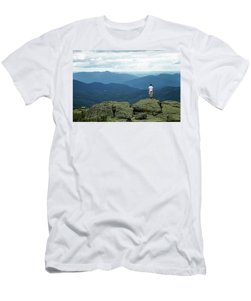 Mountain Top Men's T-Shirt (Athletic Fit)