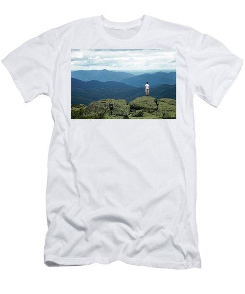 Mountain Top Men's T-Shirt (Athletic Fit)