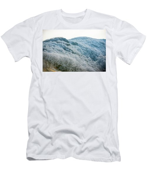 Mountainside Hoarfrost Men's T-Shirt (Athletic Fit)