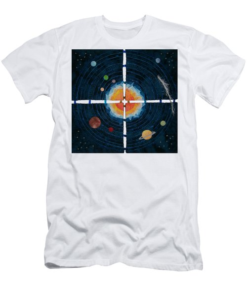 My Very Educated Mother  Just Said Uh-oh, No Pluto Men's T-Shirt (Athletic Fit)