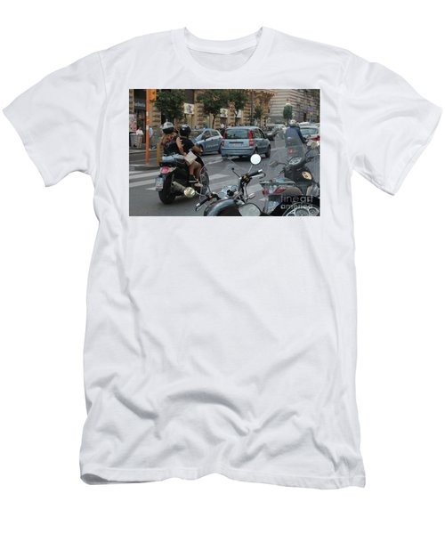 Naples Street Buzz Men's T-Shirt (Athletic Fit)