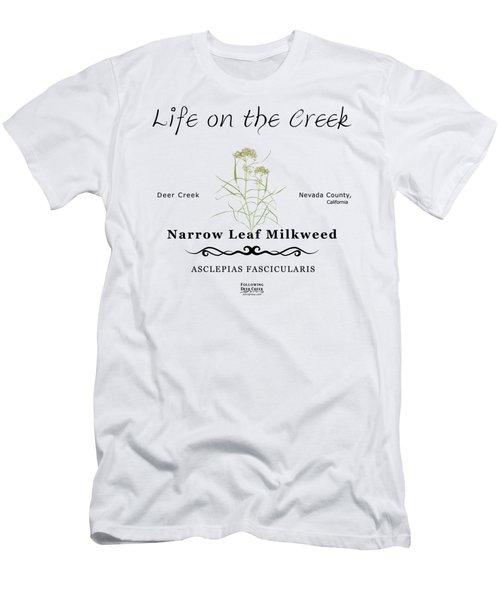 Narrow Leaf Milkweed Men's T-Shirt (Athletic Fit)