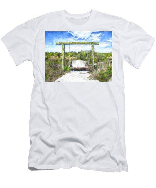 Nature Swing Men's T-Shirt (Athletic Fit)
