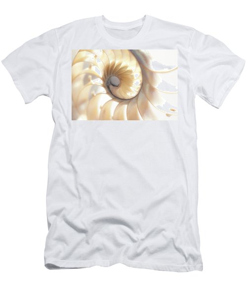 Men's T-Shirt (Athletic Fit) featuring the photograph Nautilus 0472 by Mark Shoolery