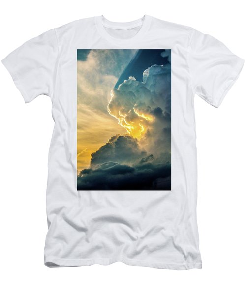 Nebraska Sunset Thunderheads 075 Men's T-Shirt (Athletic Fit)