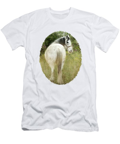 New Day Dawning - Field Of Flowers Men's T-Shirt (Athletic Fit)