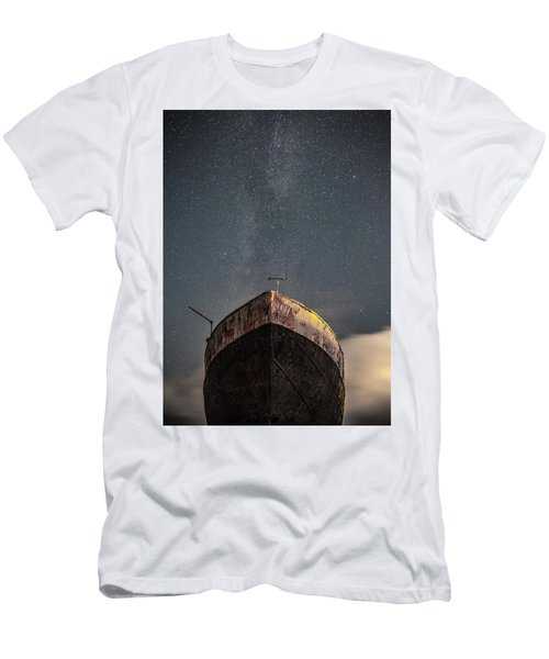 New Life Milkway  Men's T-Shirt (Athletic Fit)