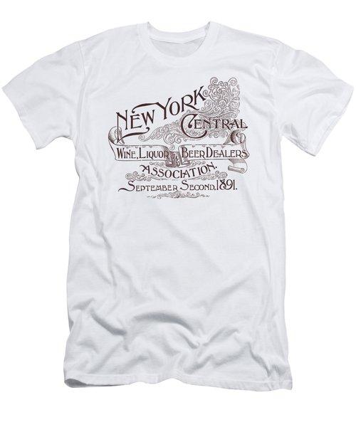 New York Liquor Dealers Association 1891 - T-shirt Men's T-Shirt (Athletic Fit)