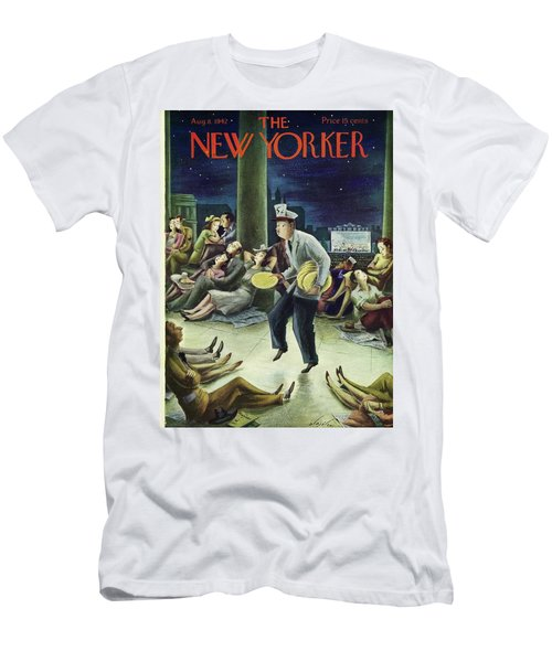 New Yorker August 8th 1942 Men's T-Shirt (Athletic Fit)