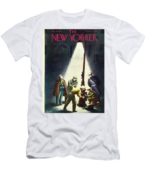 New Yorker January 30th 1943 Men's T-Shirt (Athletic Fit)