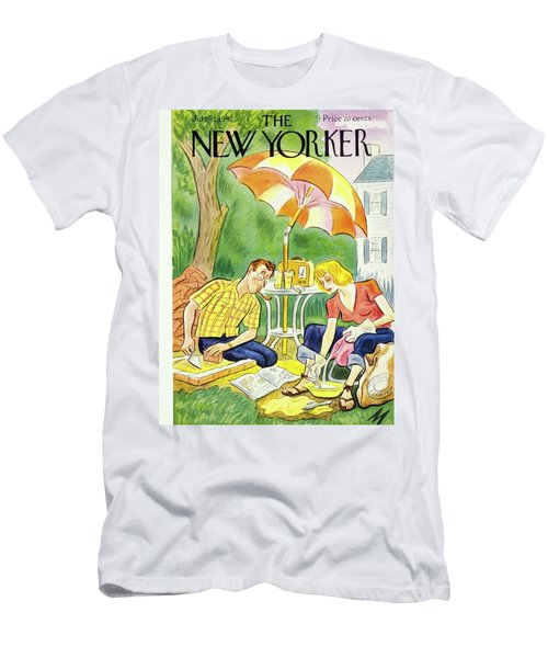 New Yorker July 12th 1947 Men's T-Shirt (Athletic Fit)