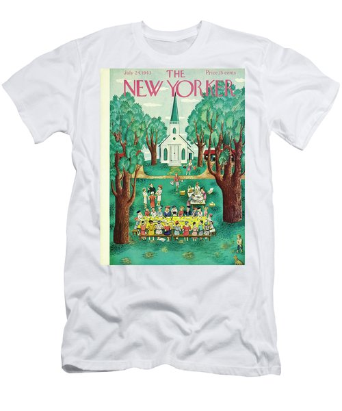 New Yorker July 24th 1943 Men's T-Shirt (Athletic Fit)