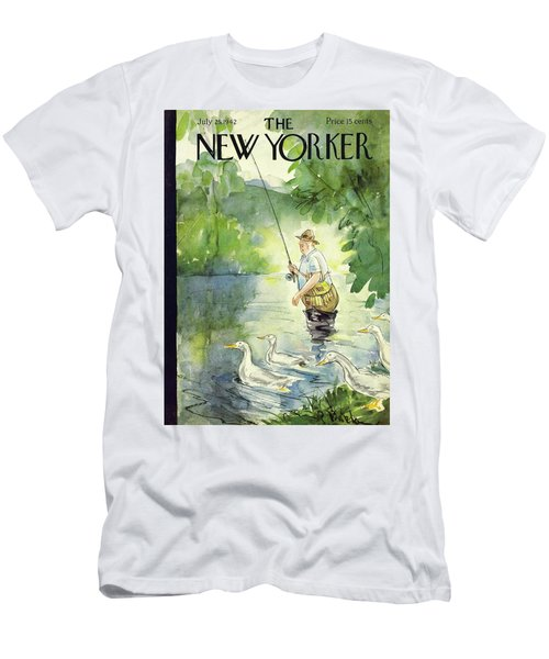 New Yorker July 25th 1942 Men's T-Shirt (Athletic Fit)
