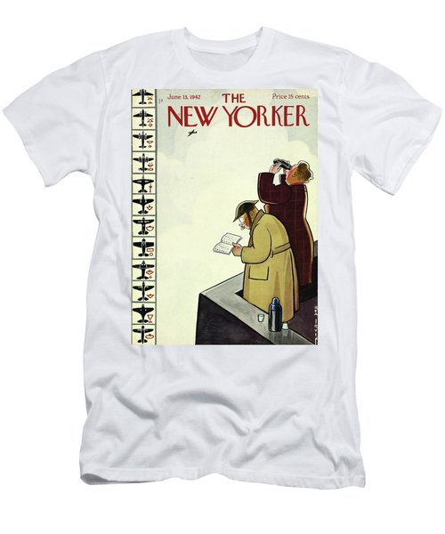 New Yorker June 13th 1942 Men's T-Shirt (Athletic Fit)