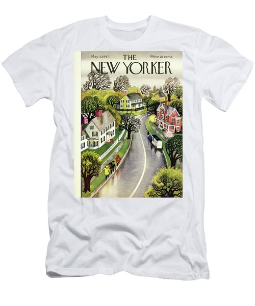 New Yorker May 3, 1947 Men's T-Shirt (Athletic Fit)