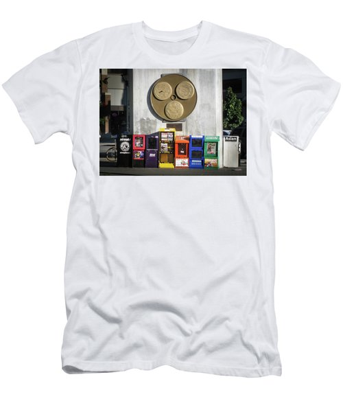 Newsstands At Gilmore Men's T-Shirt (Athletic Fit)