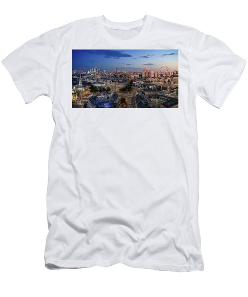 Men's T-Shirt (Athletic Fit) featuring the photograph Night And Day by Stewart Marsden