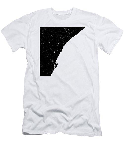 Night Climbing Men's T-Shirt (Athletic Fit)