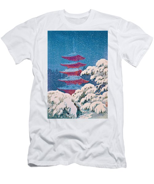 Nikko, Five-storied Pagoda Men's T-Shirt (Athletic Fit)