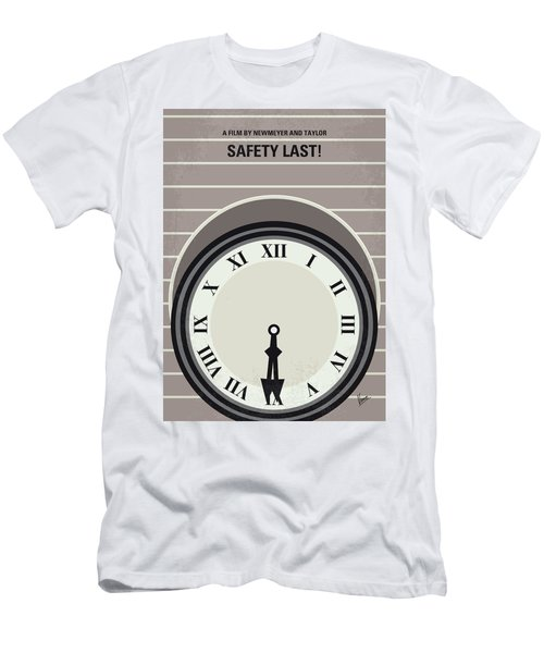 No1024 My Safety Last Minimal Movie Poster Men's T-Shirt (Athletic Fit)