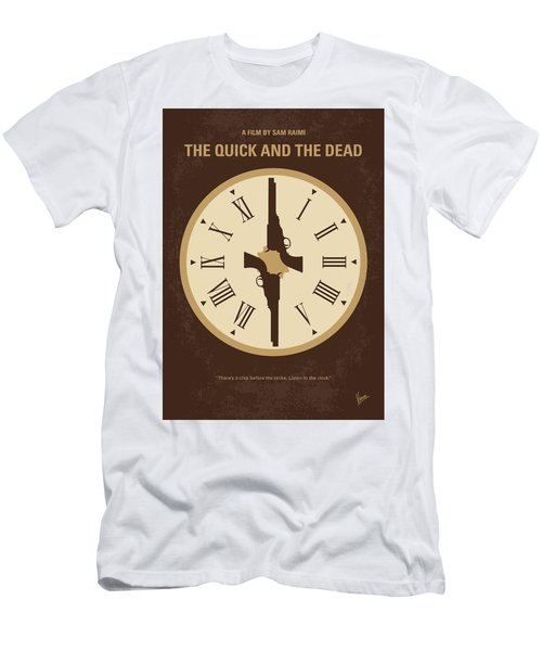 No988 My The Quick And The Dead Minimal Movie Poster Men's T-Shirt (Athletic Fit)