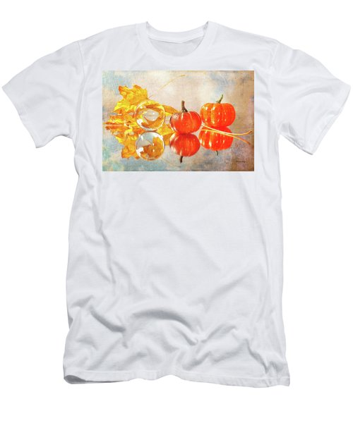 Men's T-Shirt (Athletic Fit) featuring the photograph October Reflections by Randi Grace Nilsberg