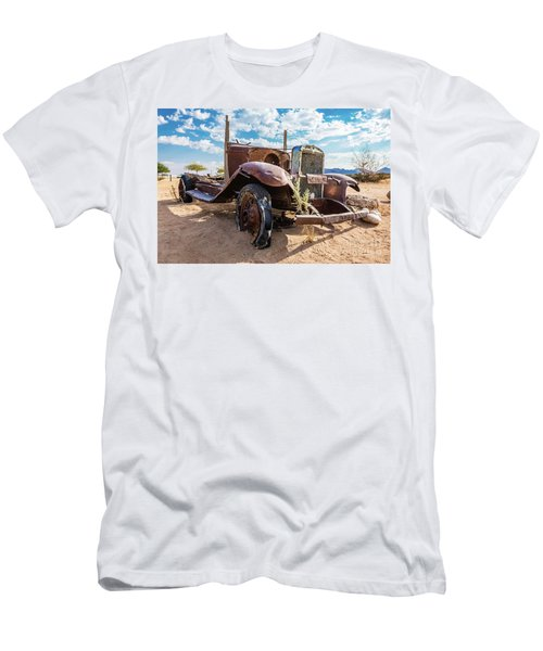 Old And Abandoned Car 3 In Solitaire, Namibia Men's T-Shirt (Athletic Fit)