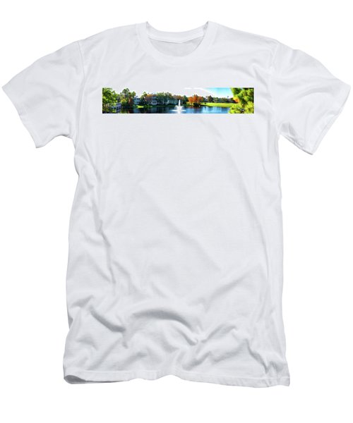 Old Key West Resort Panorama Walt Disney World Men's T-Shirt (Athletic Fit)