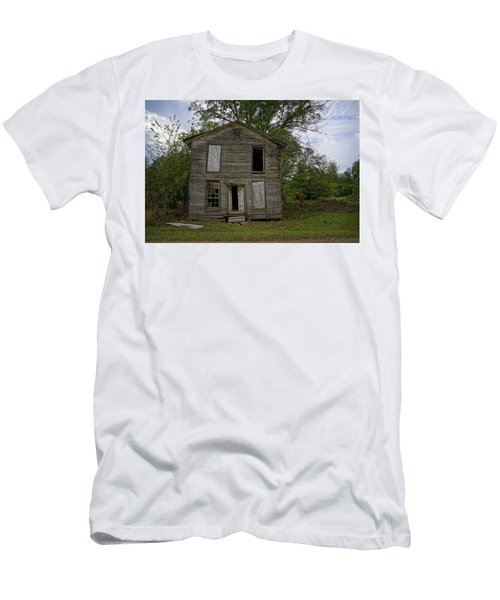 Old Masonic Lodge In Ruins Men's T-Shirt (Athletic Fit)