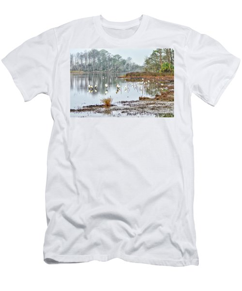 Old Rice Pond Men's T-Shirt (Athletic Fit)
