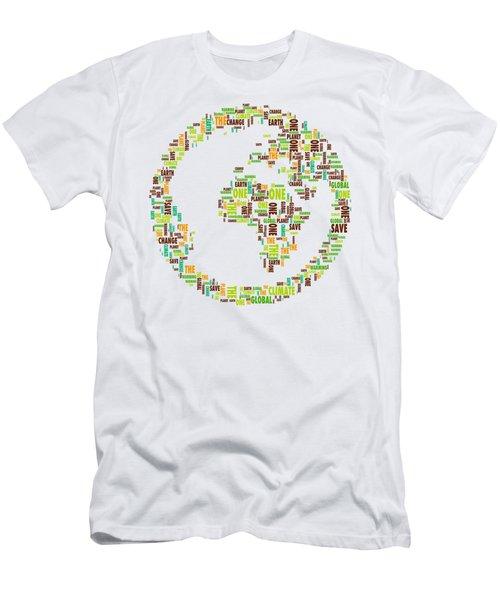 One Planet Men's T-Shirt (Athletic Fit)