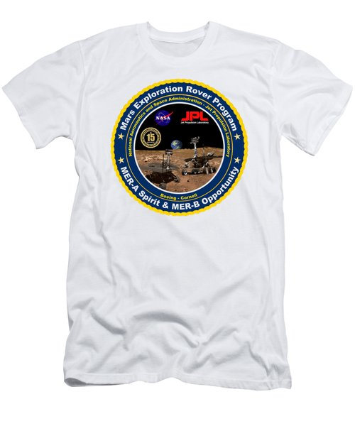 bccd162d8 Opportunity Is 15 Years On Mars Men's T-Shirt (Athletic Fit)
