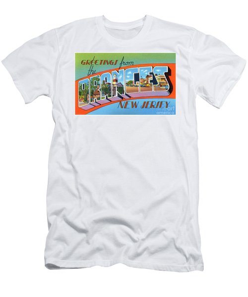 Men's T-Shirt (Athletic Fit) featuring the photograph Oranges Greetings by Mark Miller