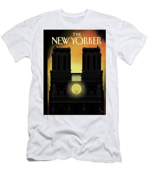 Our Lady Men's T-Shirt (Athletic Fit)