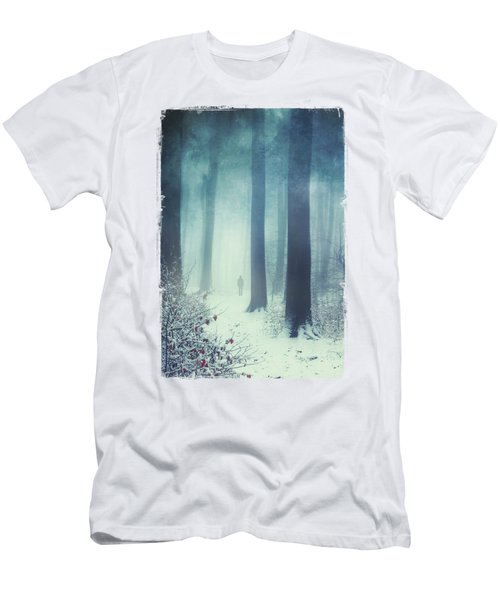 Out In The Cold Men's T-Shirt (Athletic Fit)