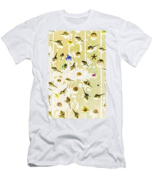 Pacific Planks Men's T-Shirt (Athletic Fit)