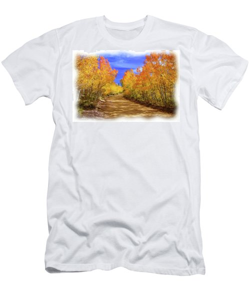 Painted Aspens Men's T-Shirt (Athletic Fit)